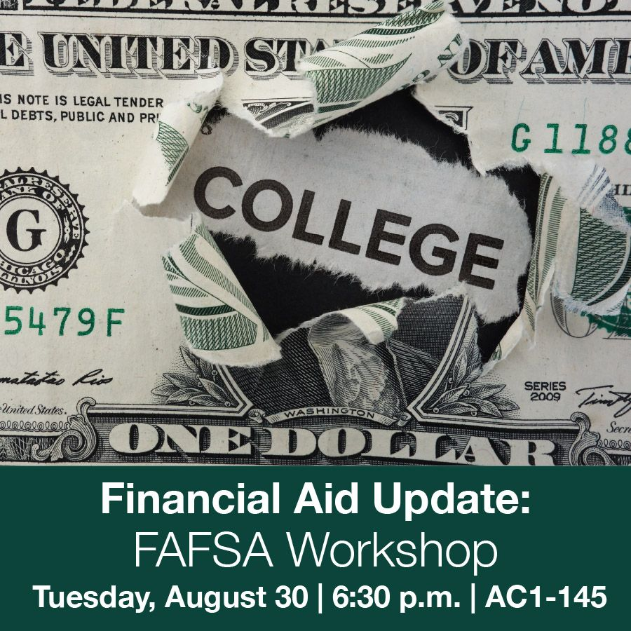 Get help completing your FAFSA on August 30!   #FAFSA #College