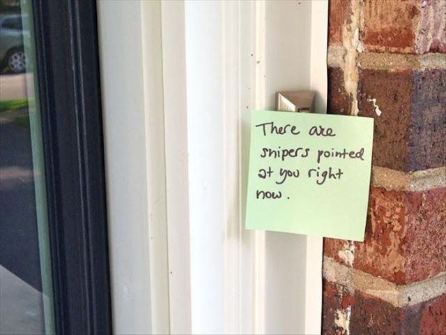 15 Funny Front Door Notes Every Parent Can Relate To. | Funny All The Time & 15 Funny Front Door Notes Every Parent Can Relate To. | Funny All ...