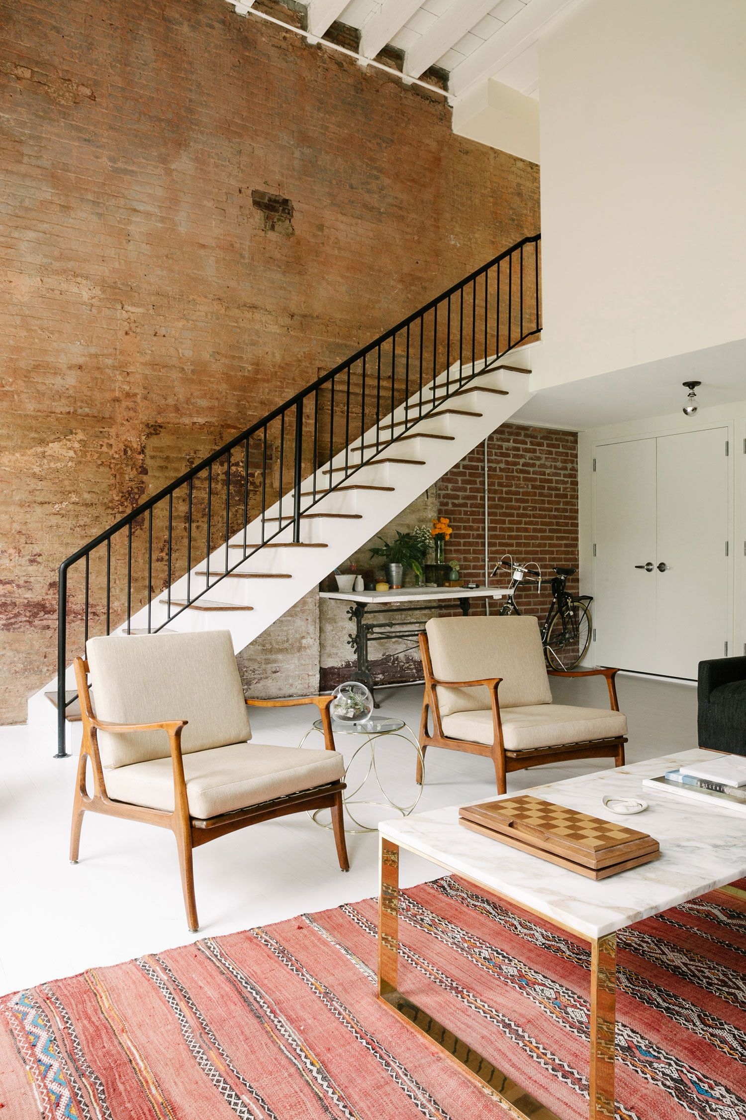 Village home interior design an eclectic loft in the west village  rue  eclectic interior