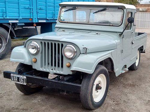 Jeep Ika 1958 Argentina