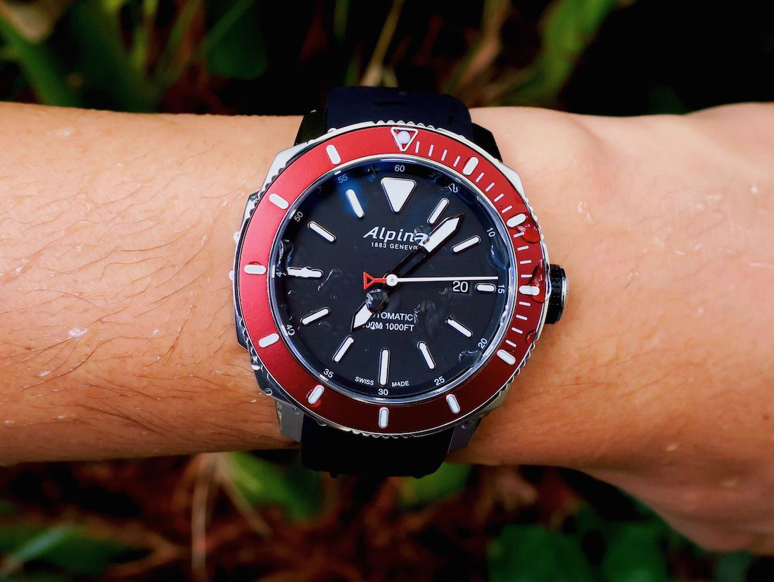 Alpina Seastrong Diver Automatic Watch Review By Zach Pina - Alpina diver watch