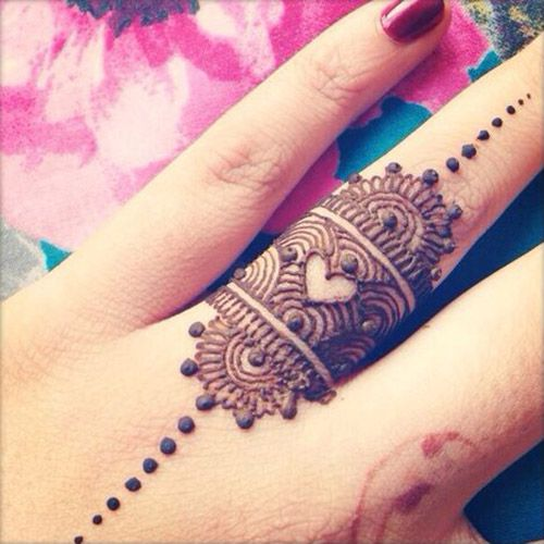 Easy henna design for fingers henna pinterest easy henna easy and simple henna designs ideas that you can do by yourself solutioingenieria Gallery