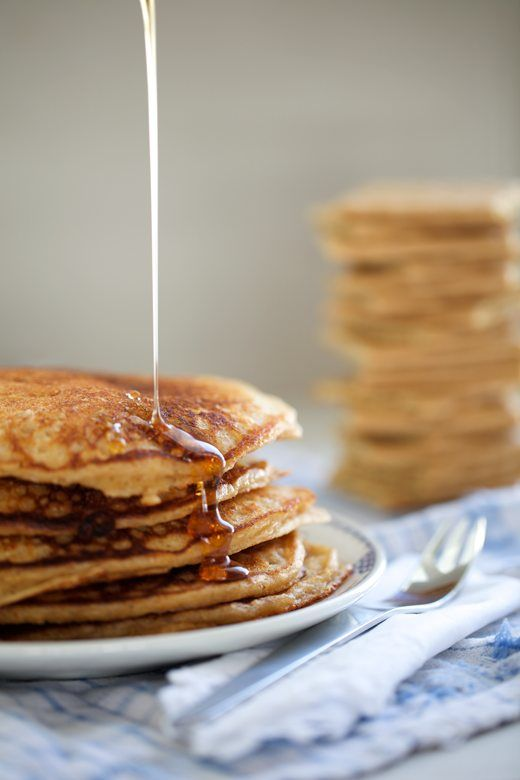 Graham cracker pancakes serve some with brown sugar cinnamon butter graham cracker pancakes serve some with brown sugar cinnamon butter maple syrup and others with a square of chocolate a few mini marshmallows ccuart Image collections