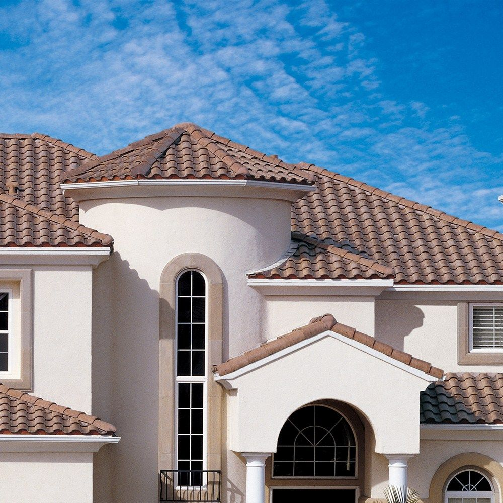 Inspiration roofing boral usa spanish style roofs for Spanish clay tile roof