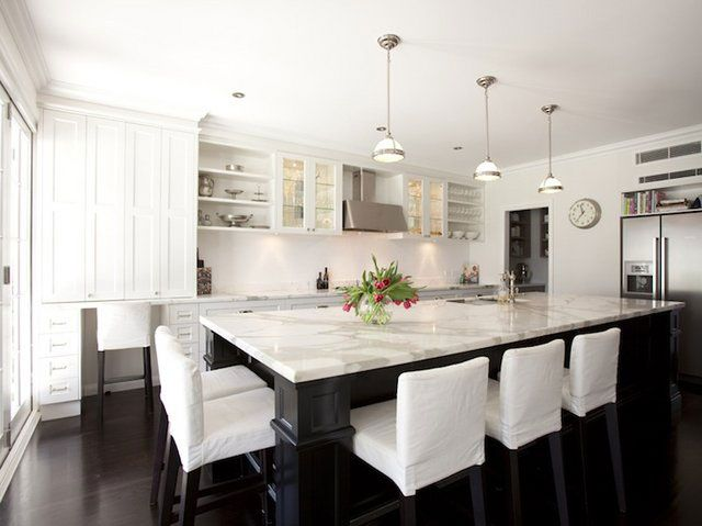 Black Kitchen Island | ... Black White Kitchen Island Design Ideas Best 20  Amazing