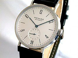 Nomos Tangomat 38.5 mm Automatic Date Silver Dial