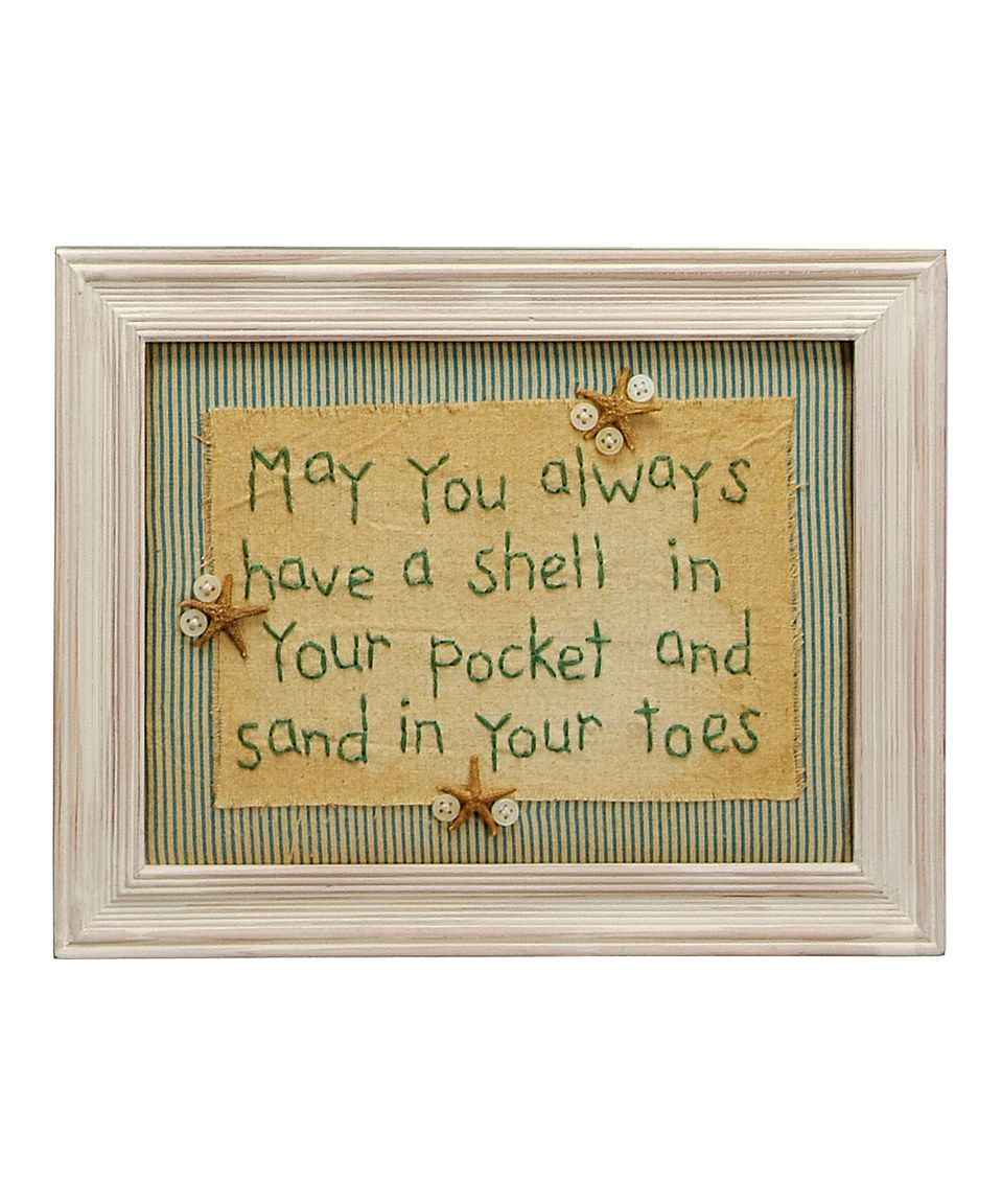 Primitives by Kathy \'May You Always\' Stitchery Wall Art | Primitives ...