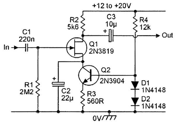 designing bipolar transistor audio preamplifiers