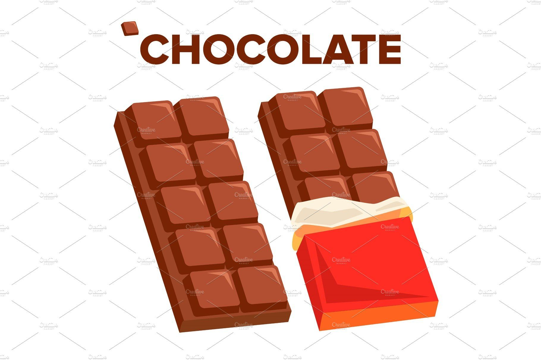 Chocolate Bar Icon Vector Dark Chocolate Bar Chocolate Cupcake Images