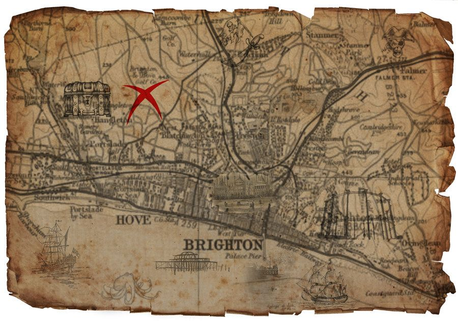 Real Treasure Maps Real Treasure Maps Real treasure maps real life | top views | Real