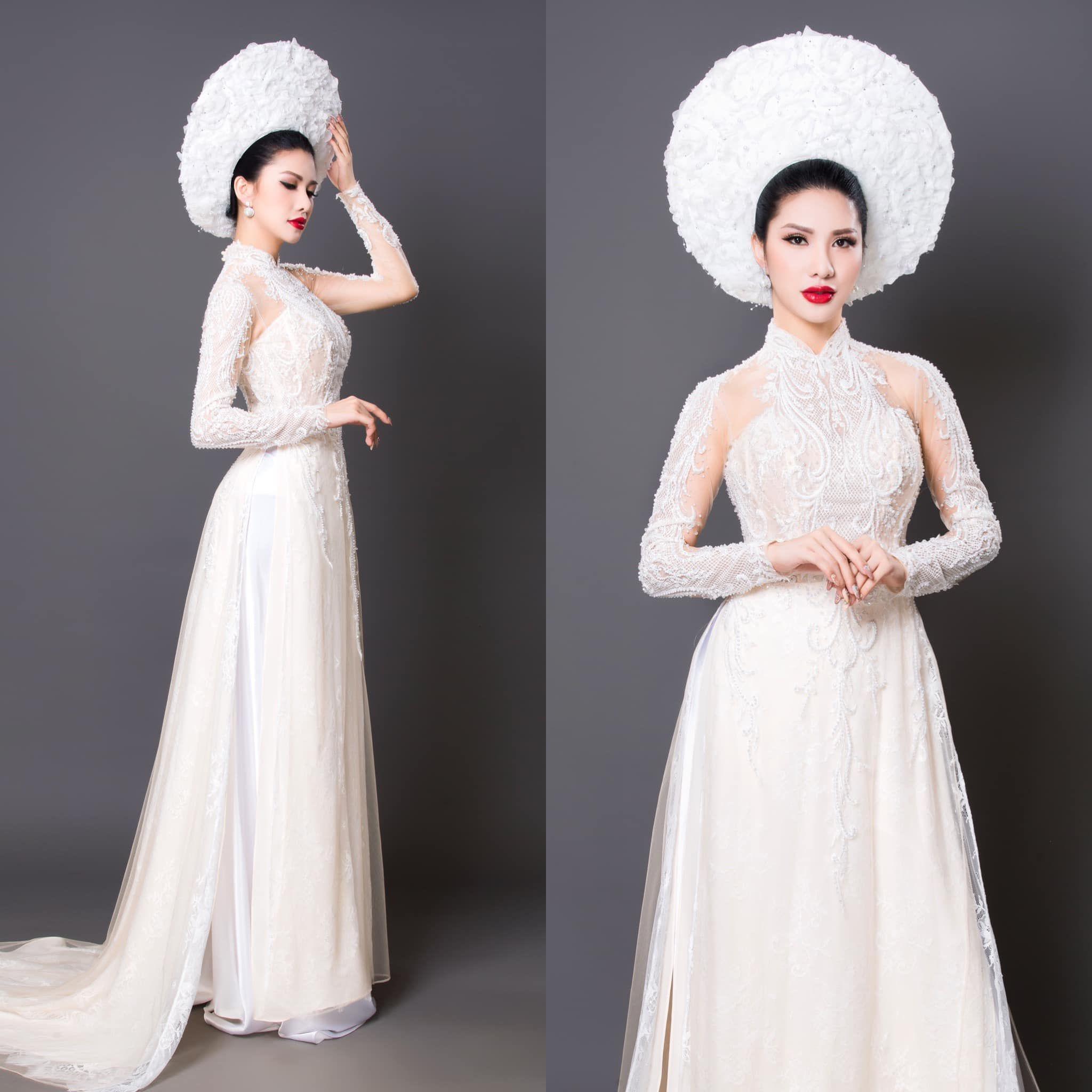 38++ Vietnamese ao dai wedding white ideas