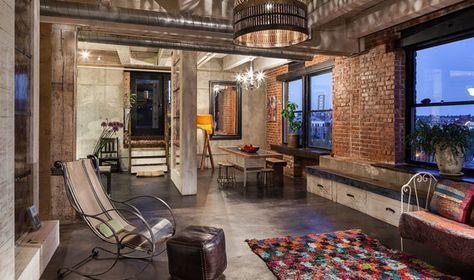 DIY Loft Wohnung Industriedesign häuser, Loft wohnung