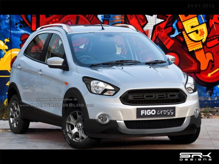Ford Figo Cross Iab Rendering Ford Super Cars Rendering