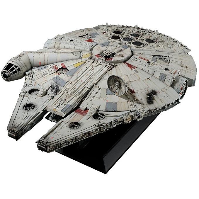 Bandai Star Wars A New Hope Millennium Falcon Perfect Grade Model Kit 1 72 Scale