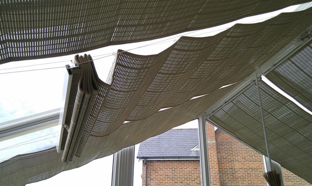 Pleated Conservatory Roof Blinds Conservatory Blinds Express Conservatory Blinds Express In 2020 Conservatory Roof Blinds Conservatory Roof Conservatory Curtains