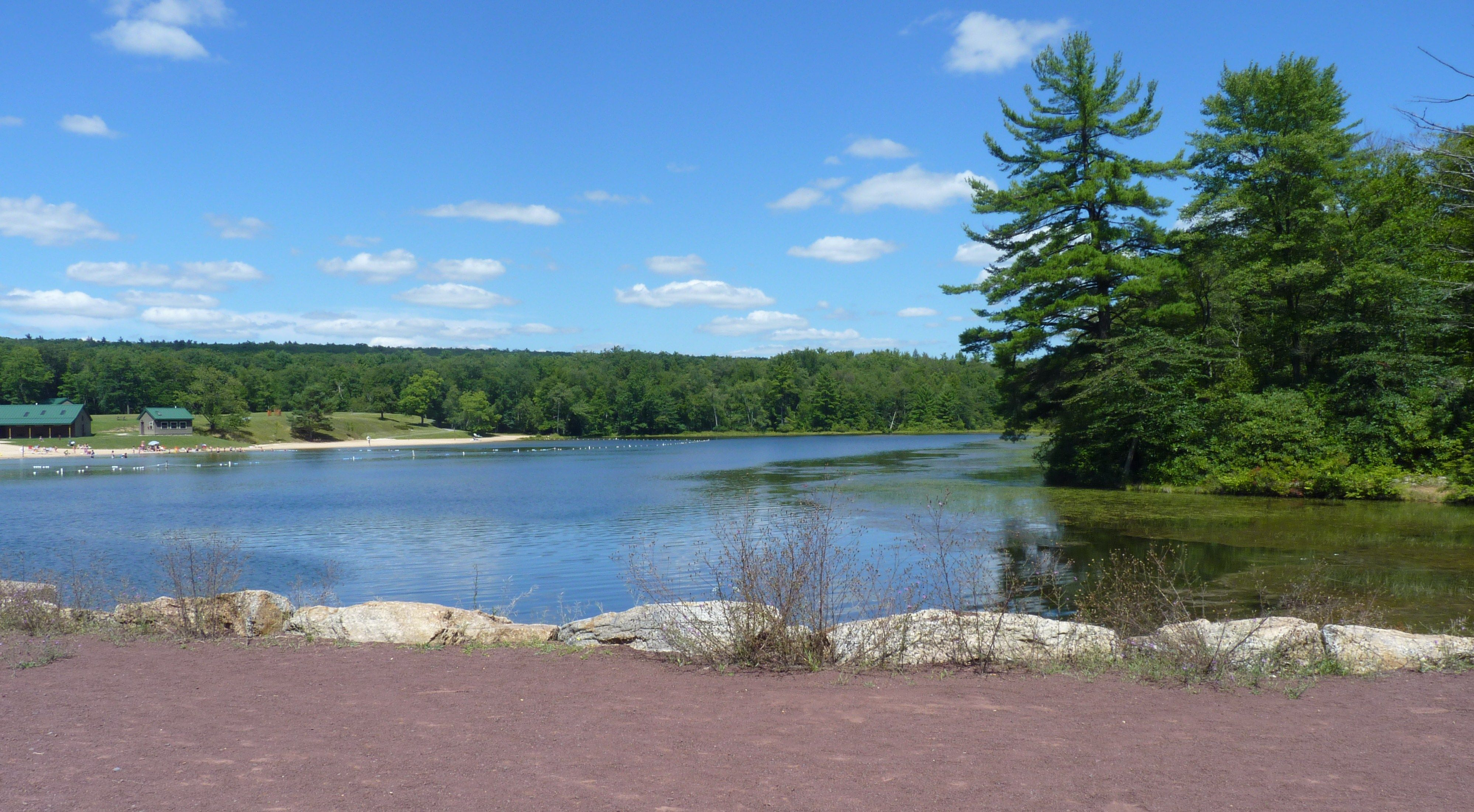 Sand Spring Lake, Hickory Run State Park State parks