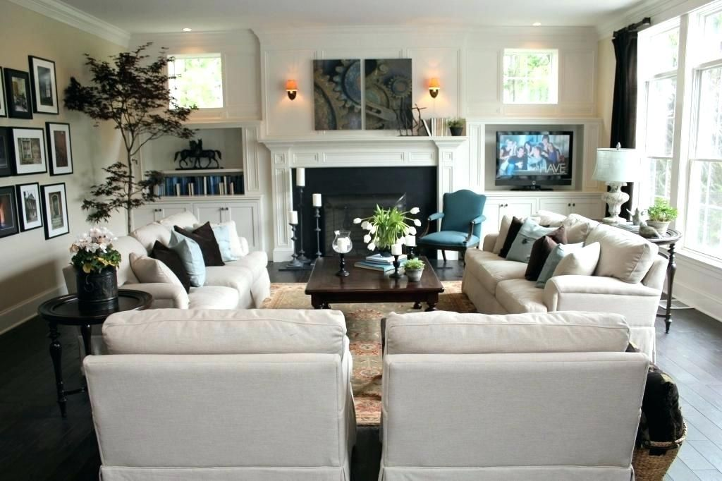 Living Room Arrangements With Two Sofas Living Room Setup With Two
