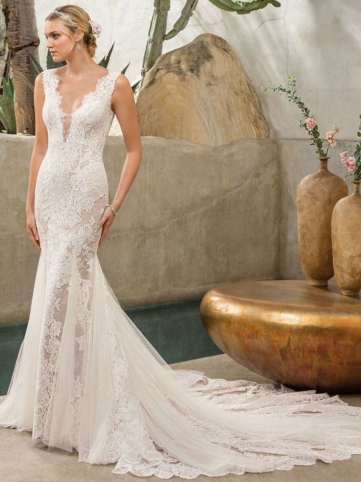 Mermaid wedding Dress - Casablanca wedding dress,Wedding Dress Inspiration | fabmood.com #weddingdress #weddinggown #bridalgown #bridaldress