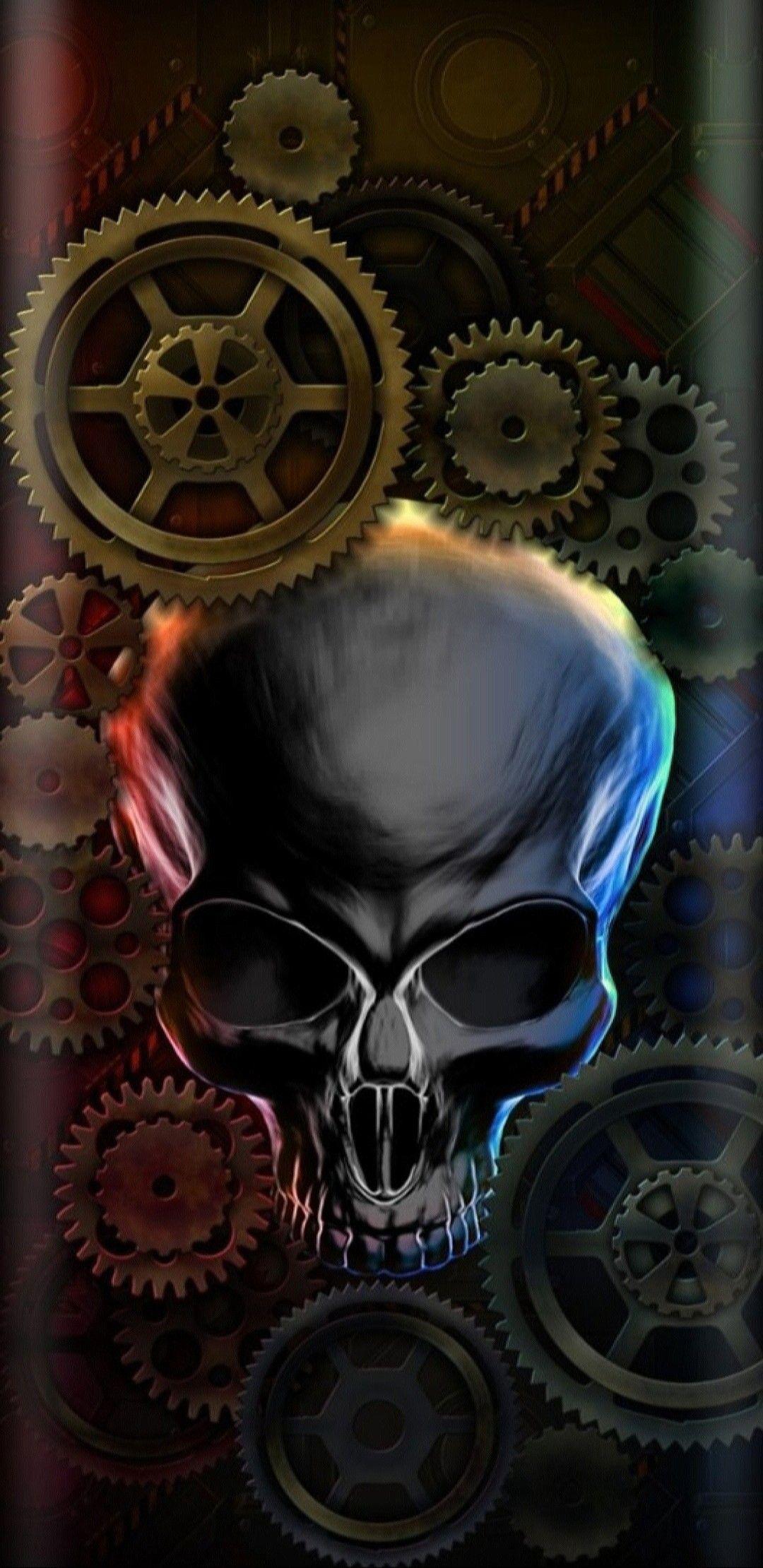 Pin By Nikkladesigns On Skull Skeleton Wallpaper Skeleton Wallpaper Dont Touch My Phone Wallpapers Skull Pattern