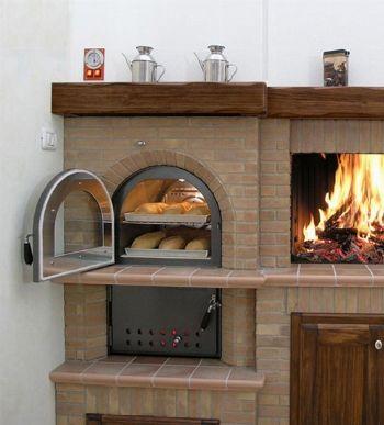 Forno a legna da giardino garden party pinterest rustic basement dream furniture and - Cucinare con il forno a legna ...