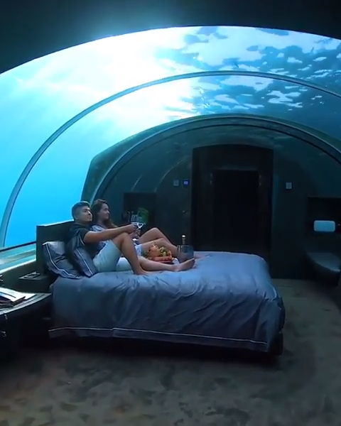 Inside Look at an Underwater Hotel in the Maldives