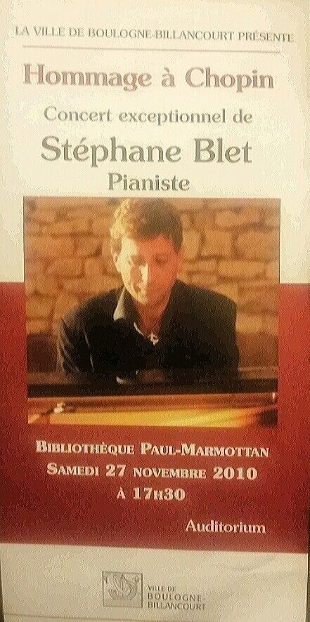 """""""Stéphane Blet: THE King ok the keyboard."""" (""""Marianne"""")"""