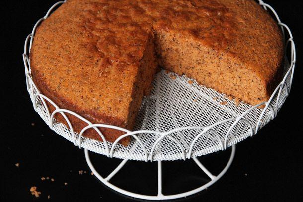 Thai Tea Cake With Condensed Milk Custard Sauce Recipe Recipe Tea Cakes Tea Recipes Thai Tea