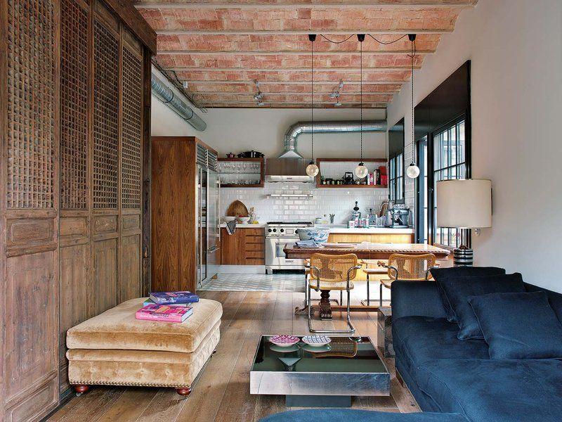 Un loft de cien años Cien años, Loft y Años - salones de lujo