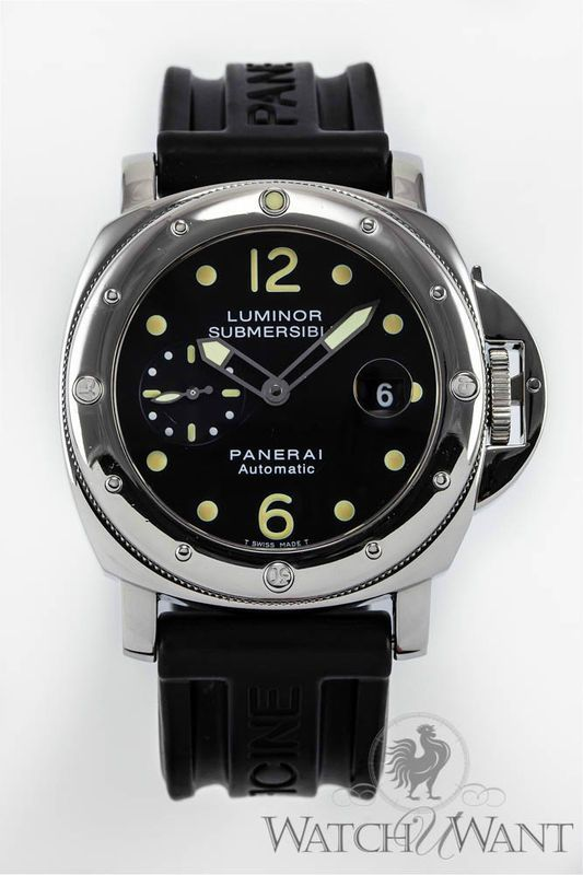 Panerai PAM 24 C - Luminor Submersible 300m - 44mm Stainless Steel ... 77e4616a6ab4
