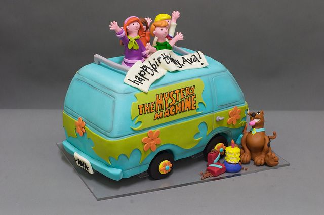 Mystery Machine Scooby Doo Cake   kids birthday cake in 2019 ... on scooby doo ruh-roh, scooby doo the mystery car, scooby doo adventures,