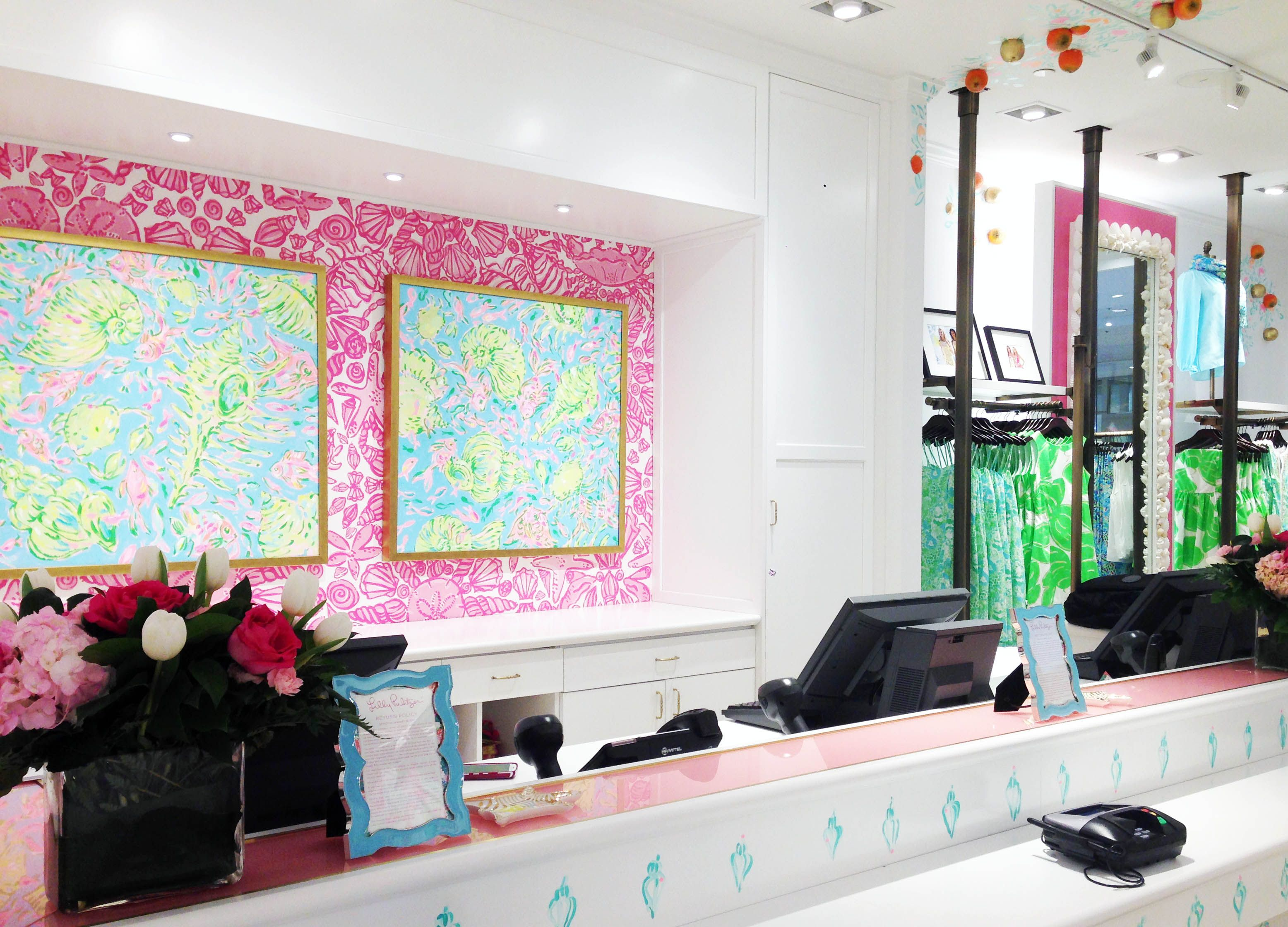 Lilly Pulitzer Store In Montgomery Mall In Bethesda, MD