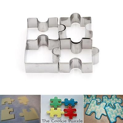 Stainless Steel Cake Mold Puzzle Piece