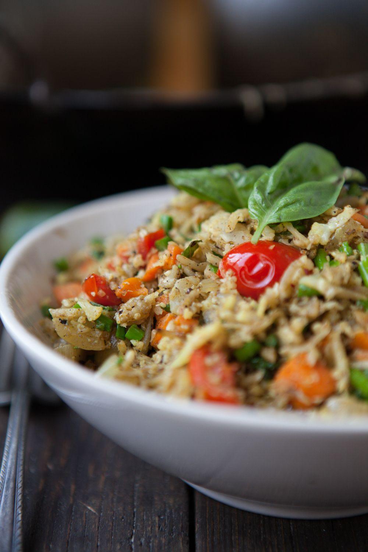 Masala Cauliflower Rice