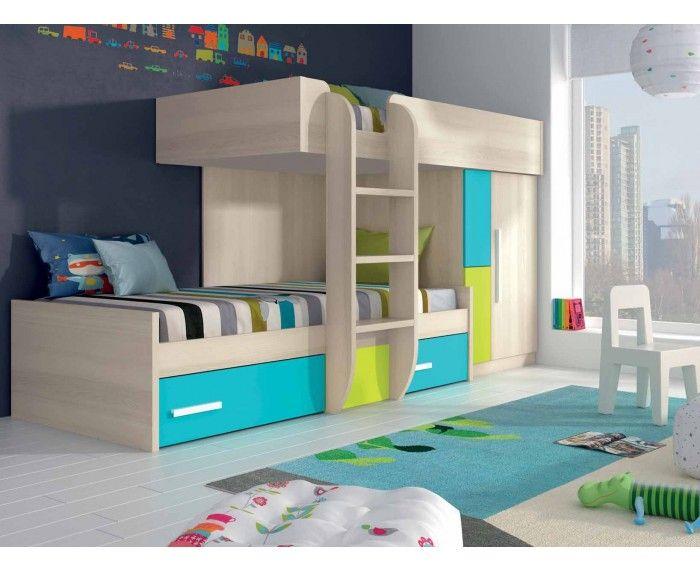 Litera tren l 13439989 merkamueble web oficial deco - Merkamueble habitaciones juveniles ...