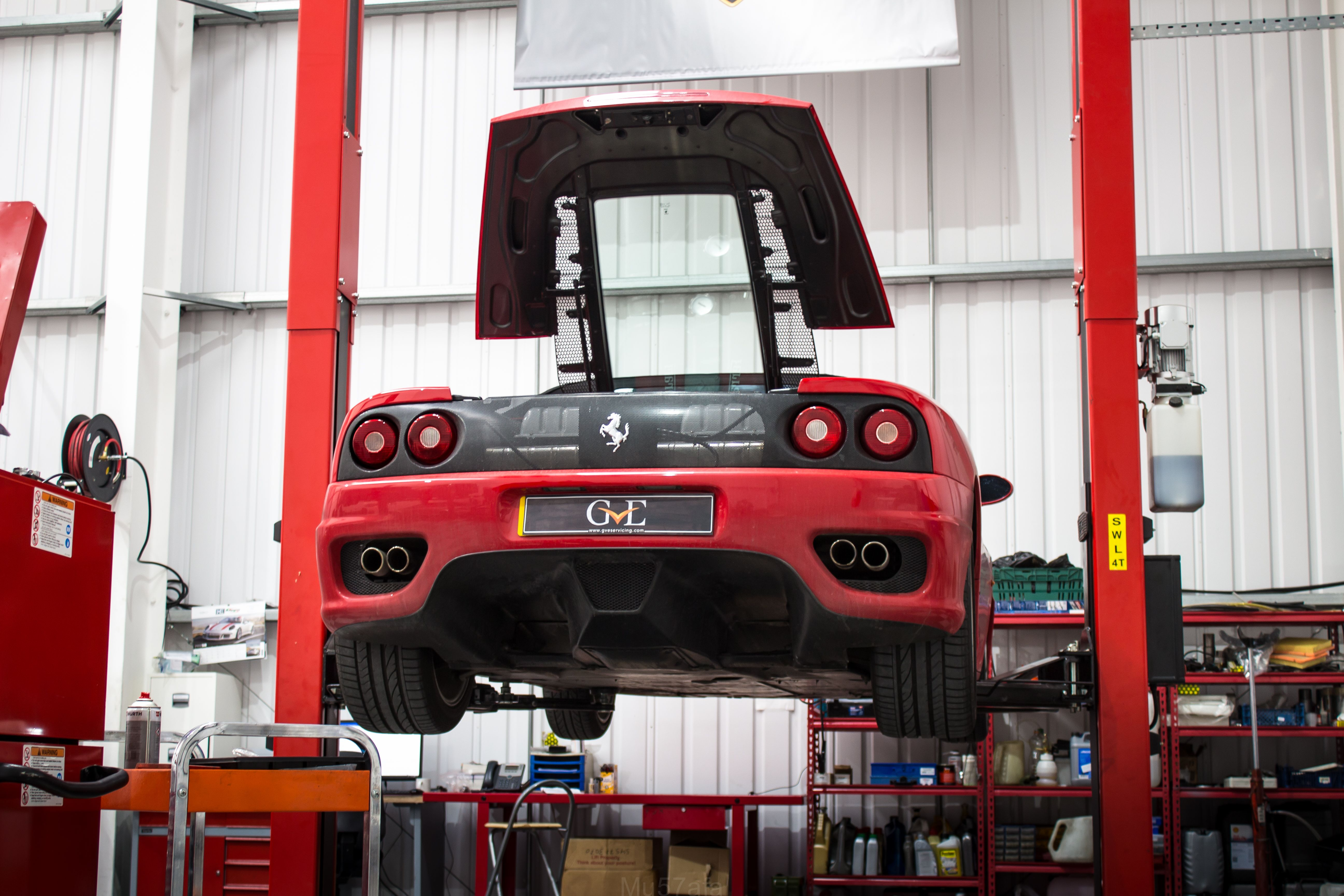 ferrari 360 capristo exhaust performance cars car showroom super cars