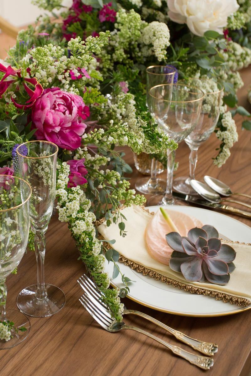 Midsummer Dream Wedding Inspiration