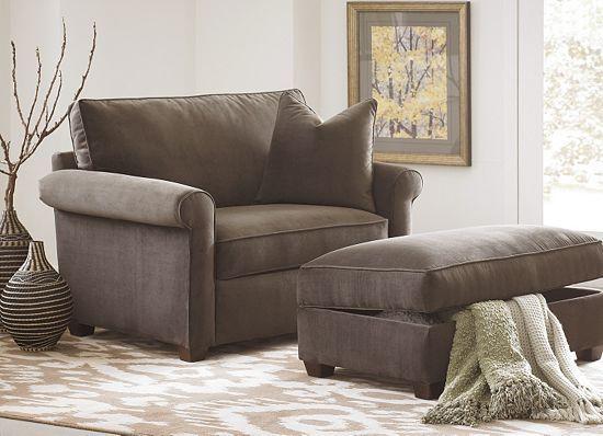Oversize Chair   Twin Sleeper 850$, Havertyu0027s