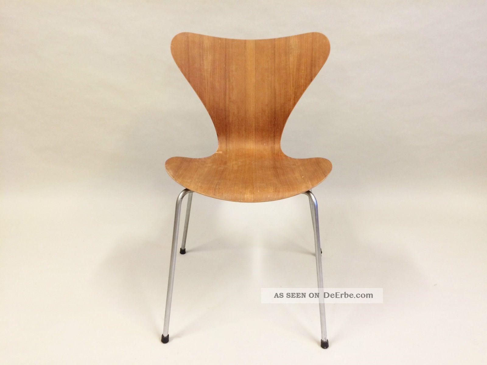 Arne Jacobsen Stühle arne jacobsen 3107 stuhl teak fritz hansen denmark 1950 1959 bild