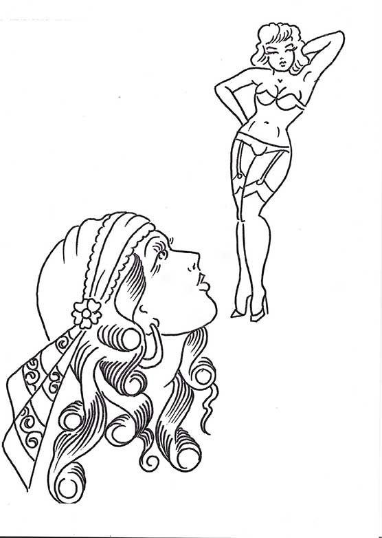 Flash Tattoo Sailor Jerry Panther Google Search Tattoo Coloring Book Sailor Jerry Tattoos Traditional Tattoo Coloring Book