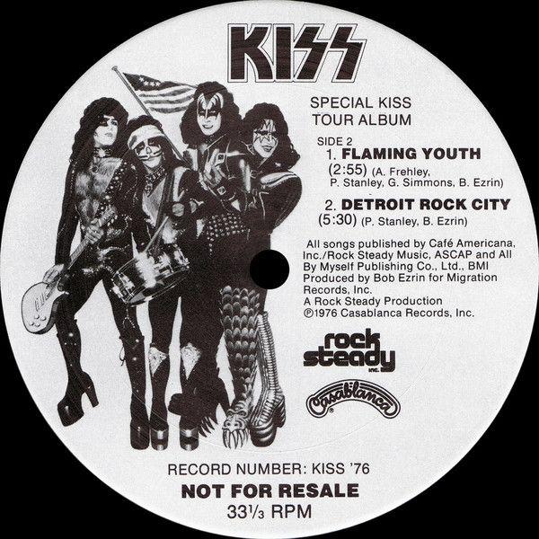 Kiss Special Kiss Tour Album Vinyl At Discogs Album Kiss Detroit Rock City