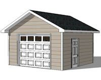 1 Car Garage Plans Storage Building Plans Outdoor Sheds Garage Plans Storage Building Plans Shed