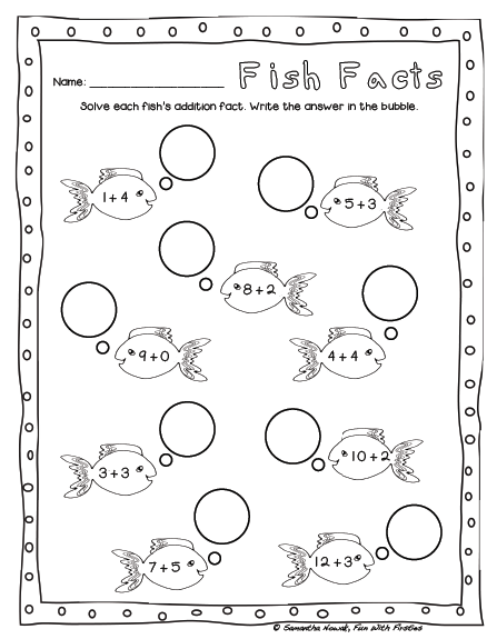 FREE Addition Math Station Worksheet & Noise Level Management Addition  Math Stations, Math Stations, Addition Worksheets