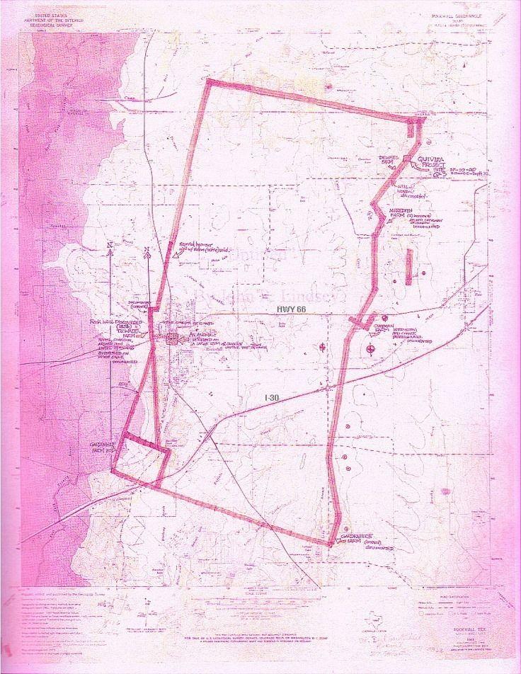 Map Of The Rock Wall In Rockwall Texas Rockwall – An American Secret | Rockwall texas, Rockwall, Rock wall