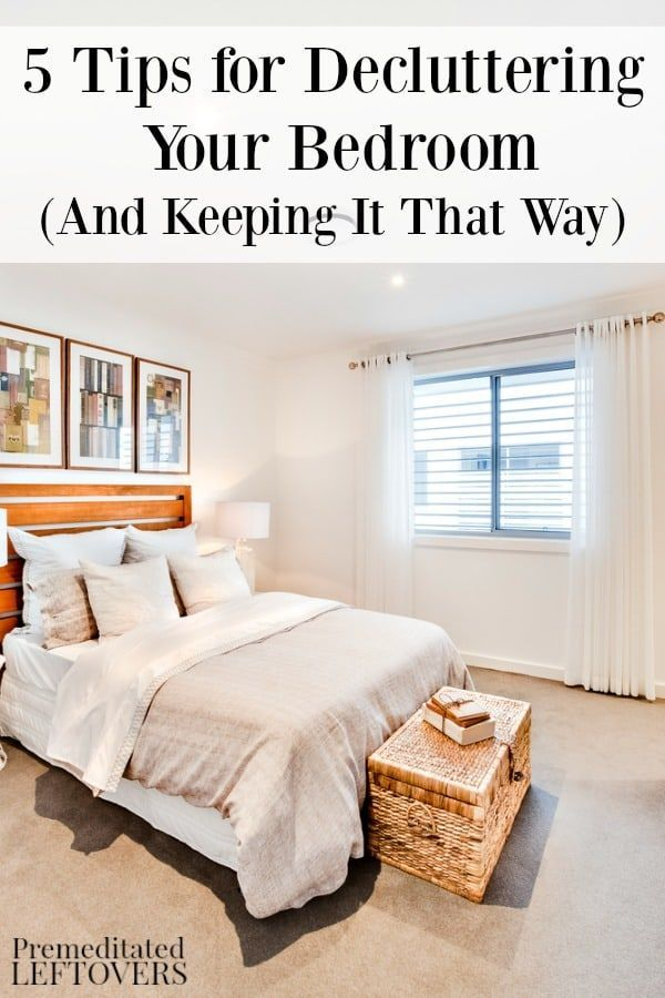 Great Here Are 5 Tips For Decluttering Your Bedroom. Cleaning Ideas And Organizing  Hacks ...