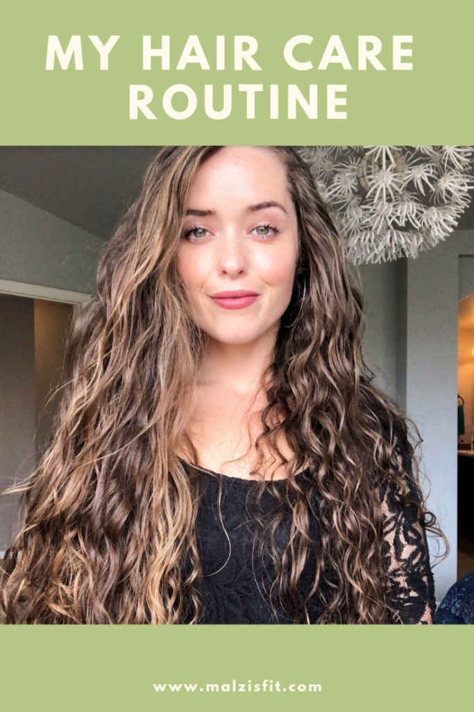 Updated Hair Care Routine Malzisfit Online Nutrition