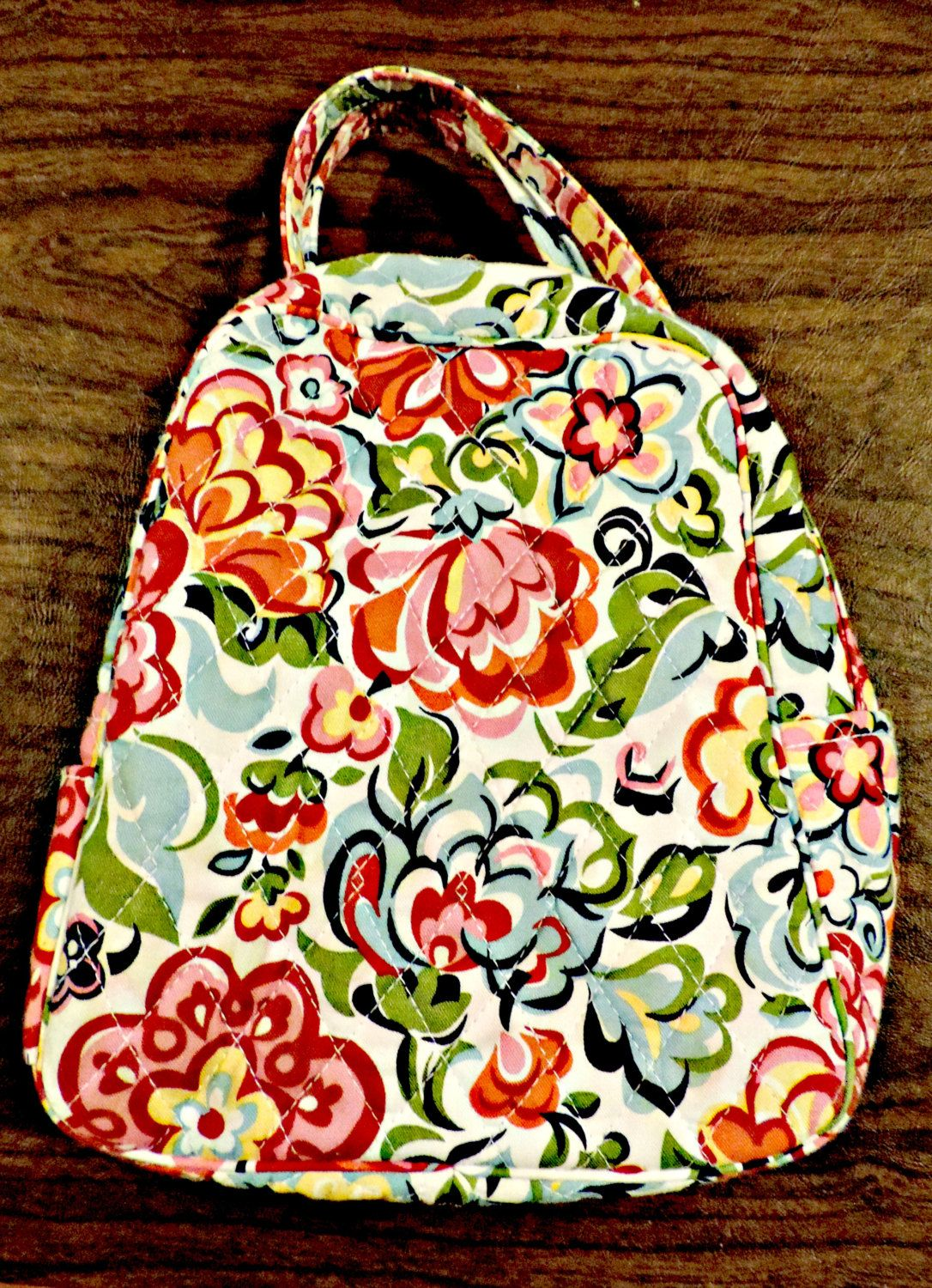 ac8f5d1de4 Vintage Vera Bradley Small Insulated Lunch Box in Red