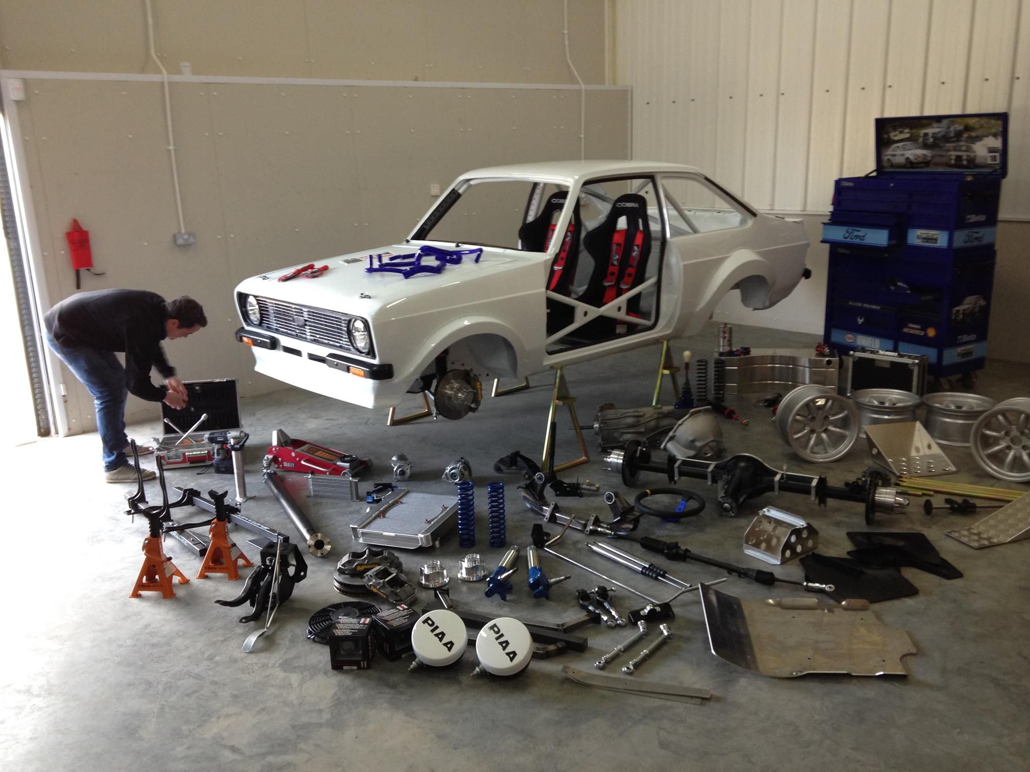 Escort Mk2 Rally Car Build Modern Spec - Page 2 - Readers\' Cars ...