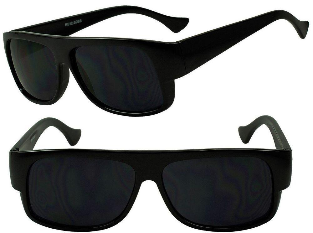 f74225df6f Original Eazy E Og Gangster Cholo Sunglasses Dark Black Classic Locs Shades   Unbranded  Wrap
