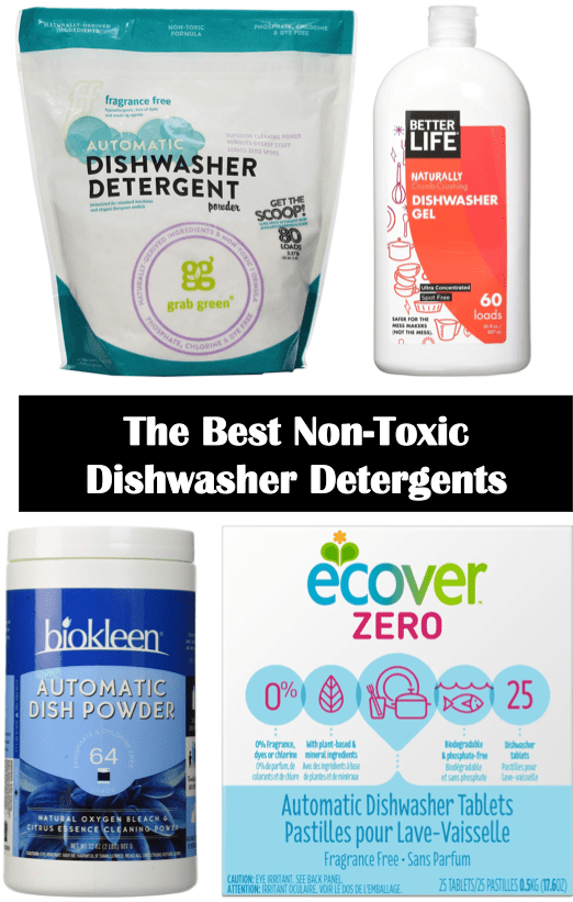 The Best Non Toxic Dishwasher Detergents Cleaning Dishwasher Detergent Detergents Fragrance Free Products