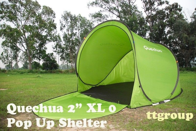 (US Warehouse) Quechua Waterproof Pop Up Tent 2 Seconds XL 0 Beach Shelter & US Warehouse) Quechua Waterproof Pop Up Tent 2 Seconds XL 0 Beach ...